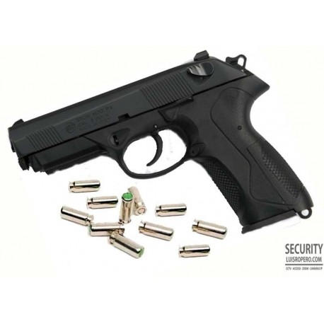 Bruni P4 Pistola de Salva o Fogueo 9mm Italiana