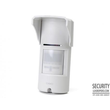 Detector de movimiento Exterior Doble tecnologia DSC LC-151