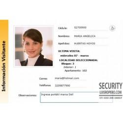 Sistema para registro de visitantes en portería