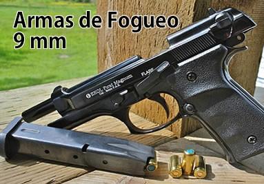 Armas de Fogueo Revólver y semi automáticas