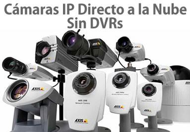 Cámaras IP Libertad sin DVR Soluciones en la nube o VPS